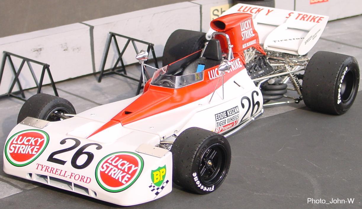 Tyrrell-Ford 004, Blignaut