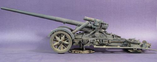Building the German 17cm Kanon...