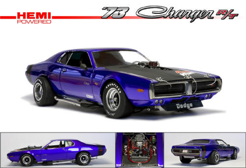 MPC Dodge Charger 73 Street Machine 116 scale English