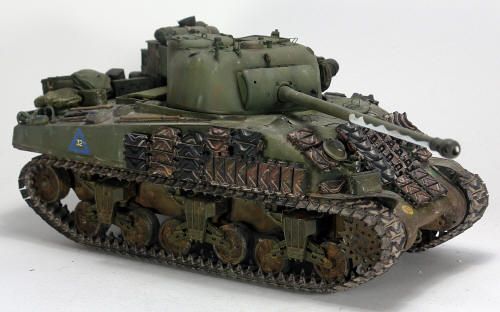Building the Tasca Sherman Firefly Ic 1/35 scale English
