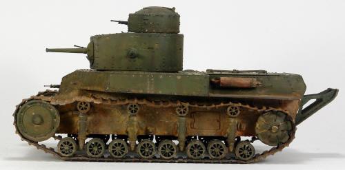 Soviet Medium Tank T-24 T24 Chassis Part 1//35 Resin HobbyBoss 82493 MasterClub
