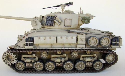Tamiya M51 super sherman RC 1/16 scale