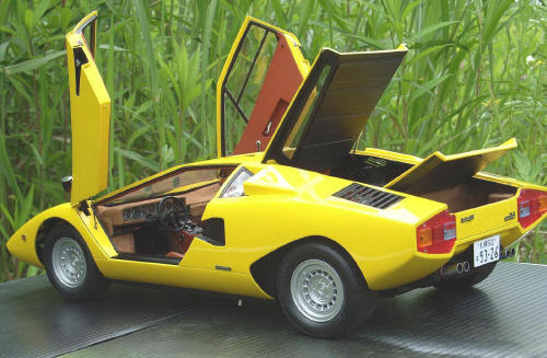 Improving The Otaki Doyusha Lamborghini Countach Lp400 1