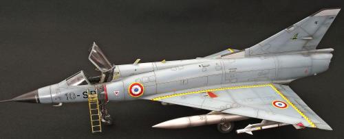Building the Italeri Mirage IIIC #I2505 1/32 scale English