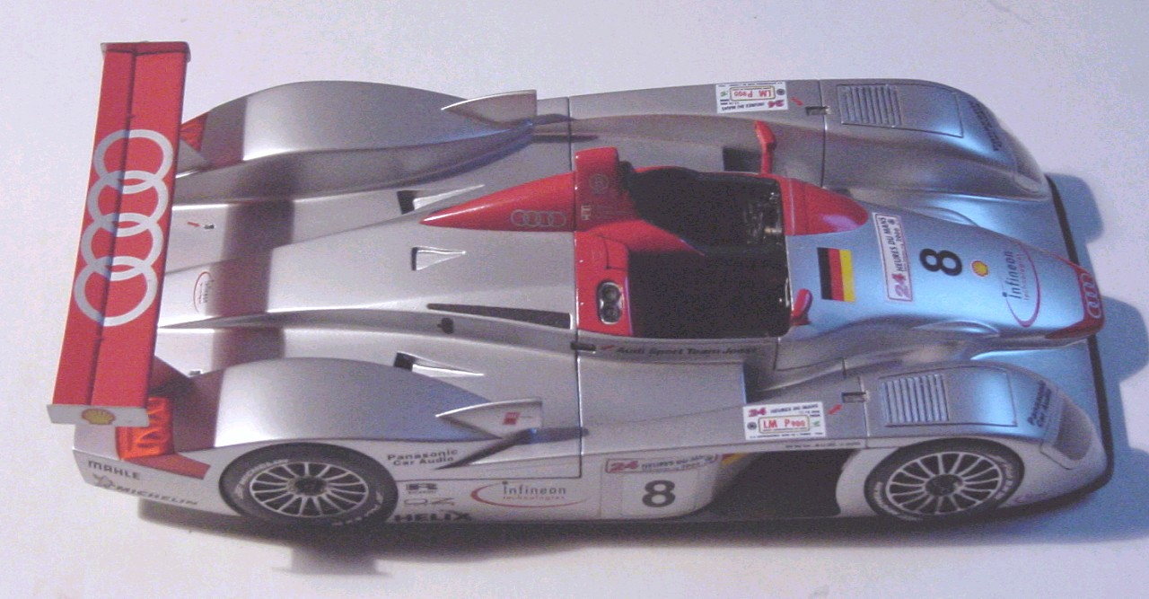 Audi R8 1/24 from Le mans models