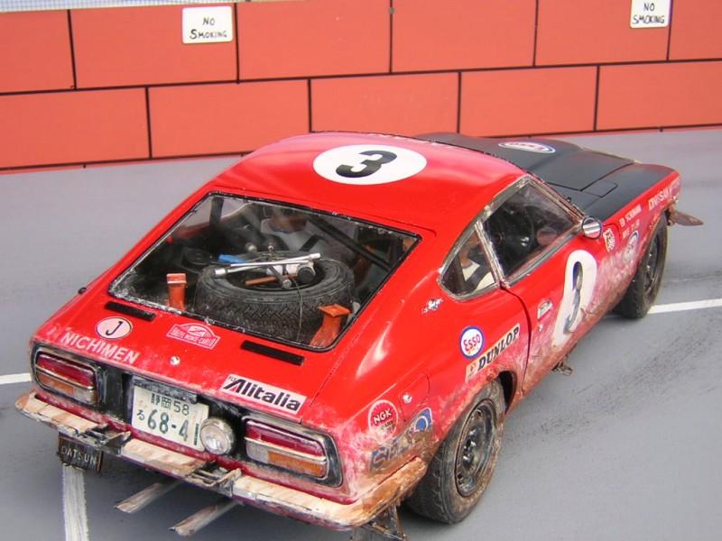 Datsun 240 Z >> Datsun 240Z Rally, Tamiya 1/12th