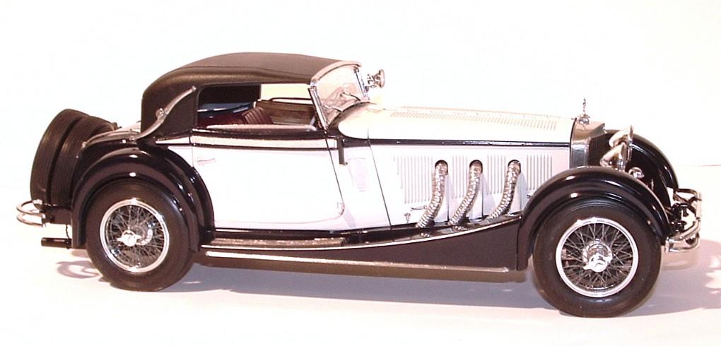 1928 mercedes benz ss cabriolet 1 16th for 1928 mercedes benz