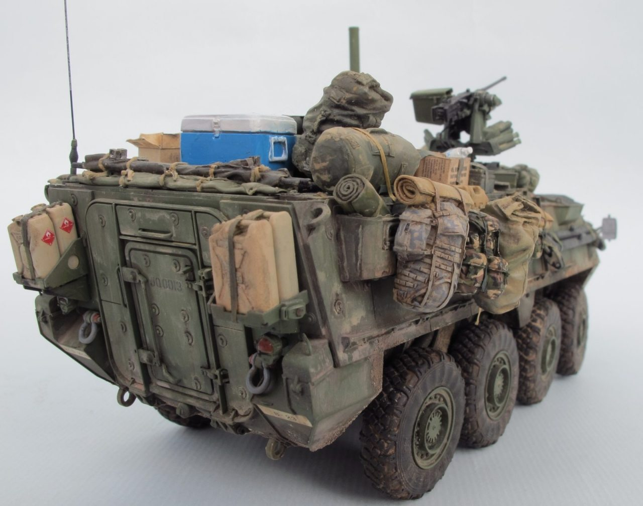 Ford Mustang Accessories >> M1126 Stryker Infantry Carrier Vehicle ICV from AFV Club 1/35 scale