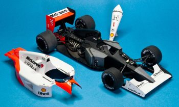 building the fujimi mclaren honda mp46 step by step for beginners 120 scale