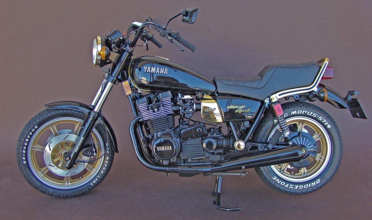 Tamiya Yamaha XS1100 Midnight Special - 1/6 scale