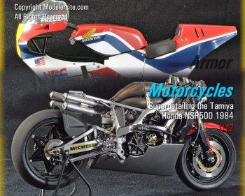 Superdetailing The Tamiya Honda NSR500 1984 U2013 1/12 Scale