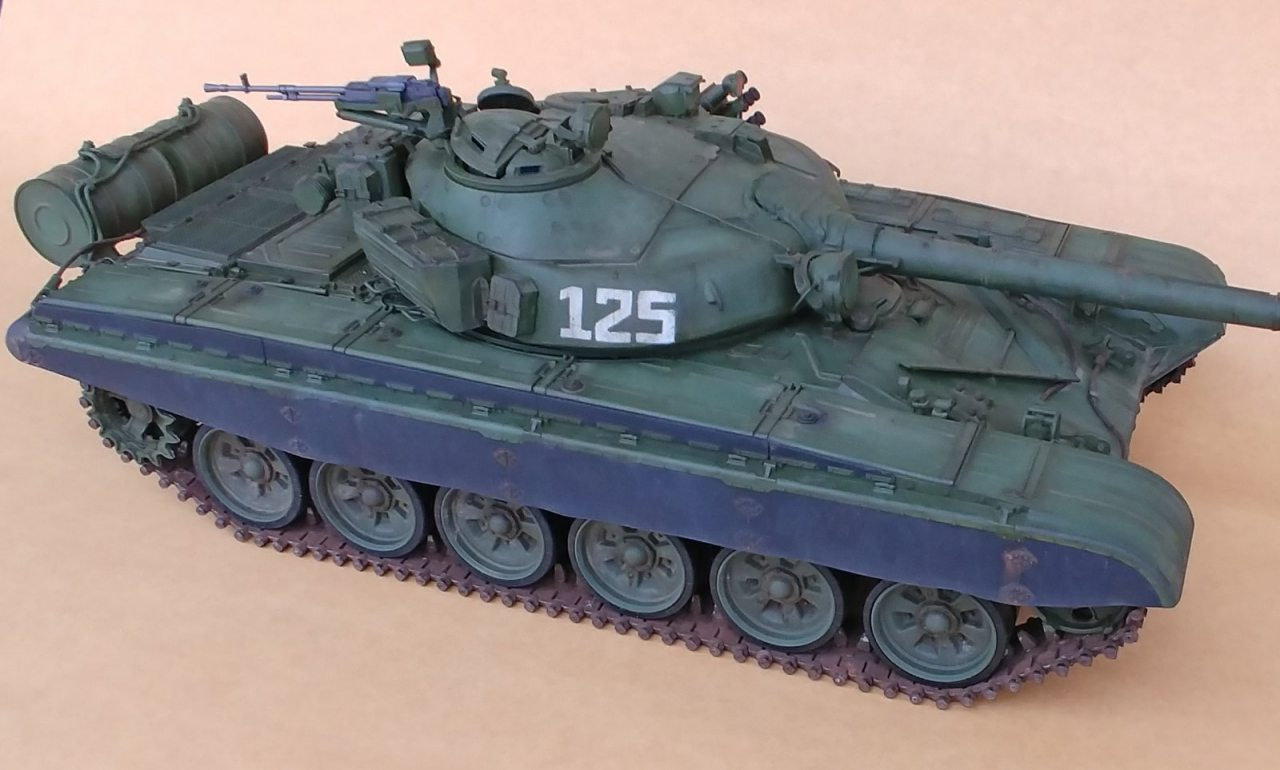 4e8e0a15cd13 Trumpeter T-72 MBT to RC 1 16 scale