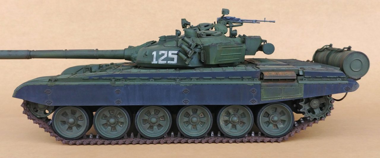 0a234a1151da Converting the Trumpeter T-72 MBT to RC 1 16 scale. PrevNext