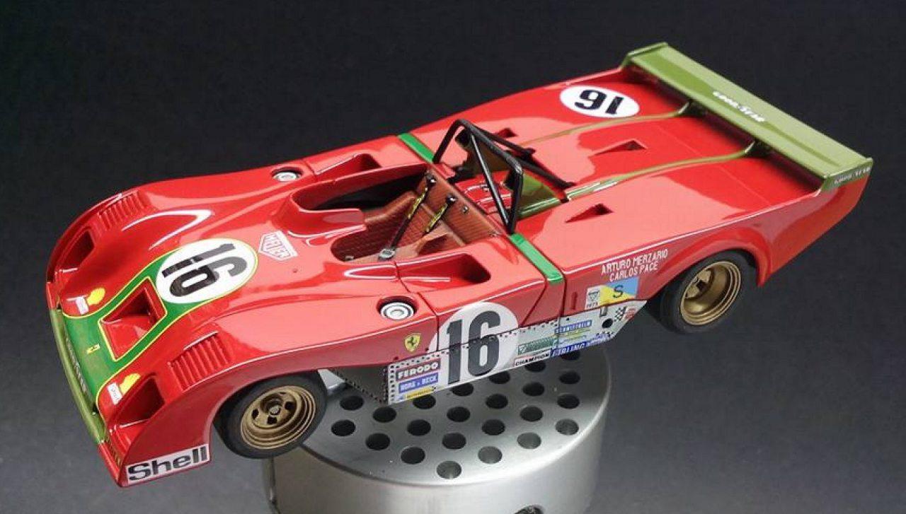 MFH Ferrari 312PB 1/43 scale