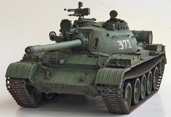 Vehículo Militar Escala 1:72 Tanque de Batalla Die-cast Modelo T54 Ejército Checoslovaca