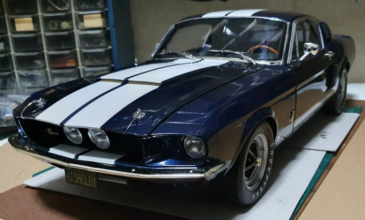 1//8 DEAGOSTINI BUILD YOUR OWN FORD MUSTANG 1967 SHELBY GT-500 ISSUE 80 INC PART