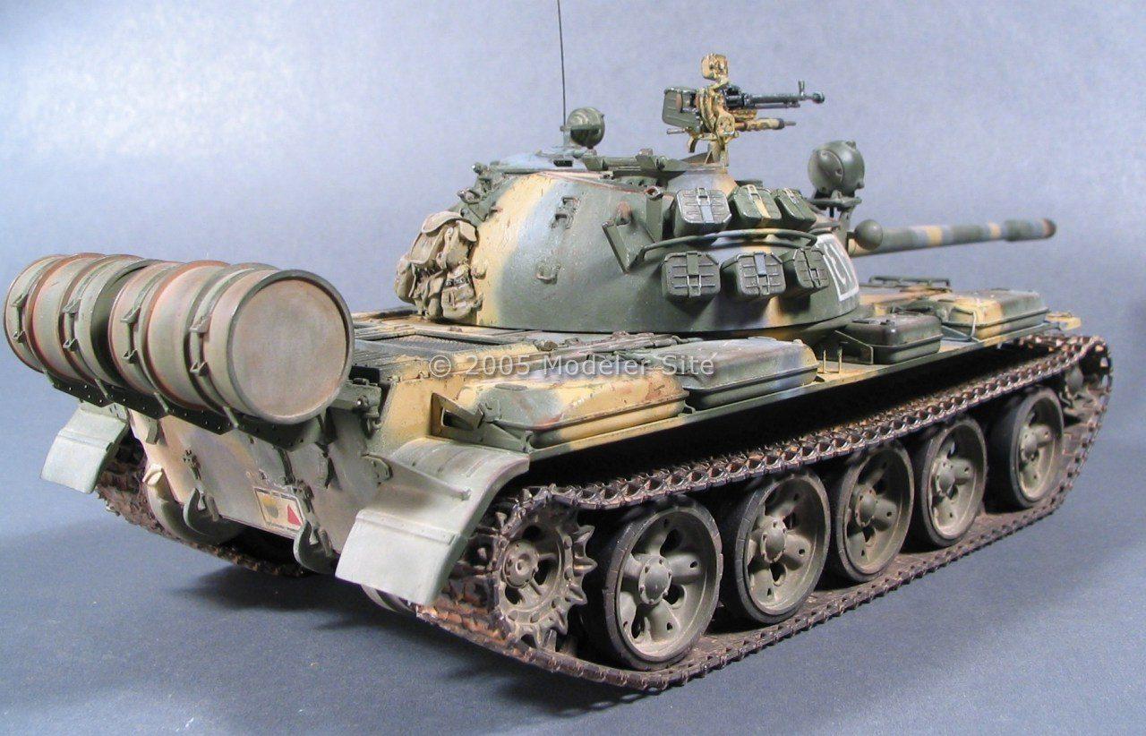 T 55 Tamiya Syrian 1 35 Scale