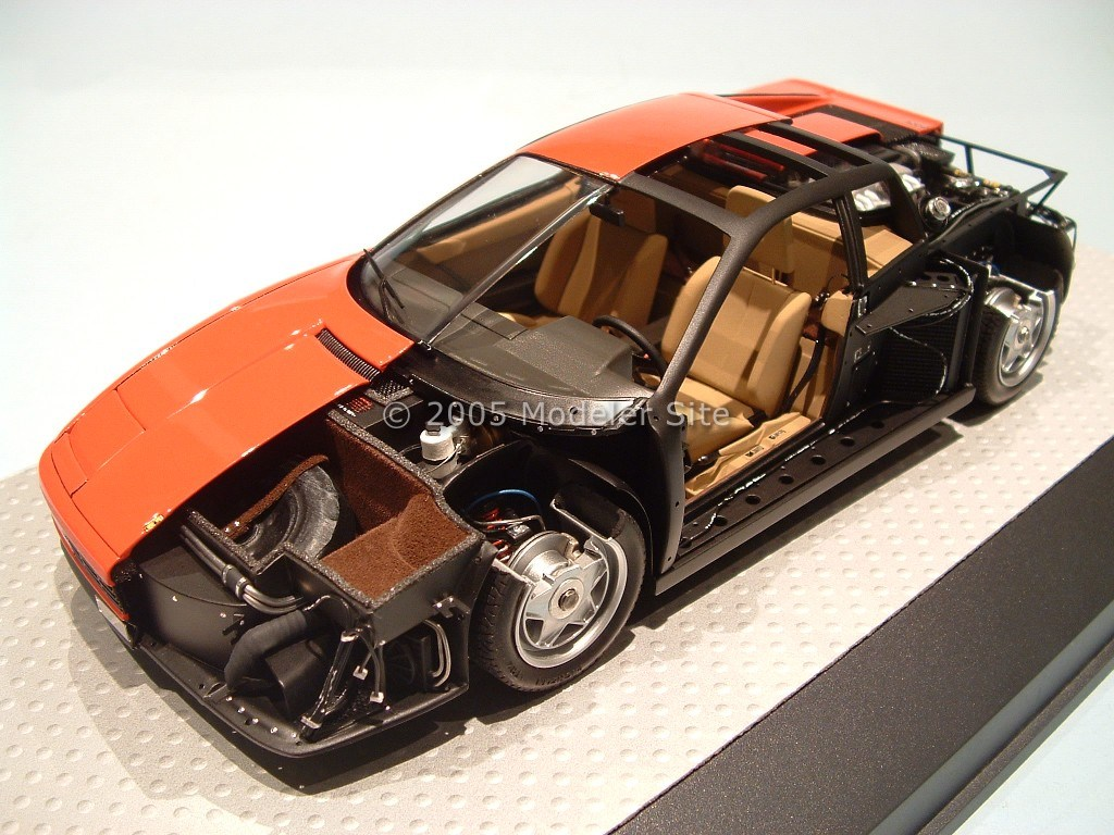 tamiya ferrari testarossa 1 24 scale. Black Bedroom Furniture Sets. Home Design Ideas