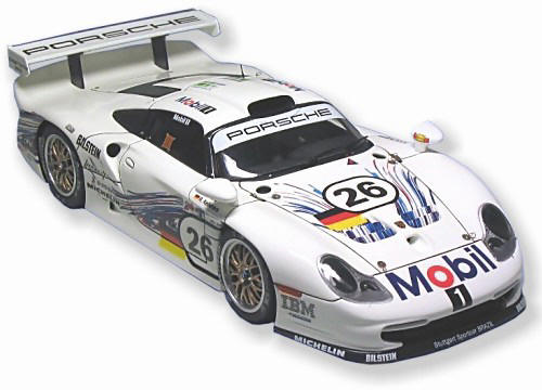 building the porsche 911 gt1 evo le mans 1997 ut model 1 24 scale cars mo. Black Bedroom Furniture Sets. Home Design Ideas