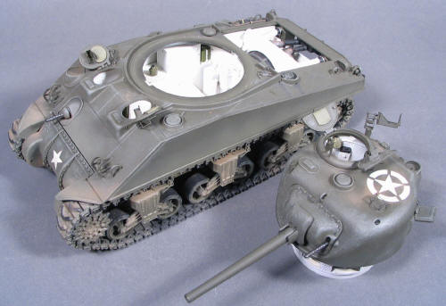 Detailing the Sherman M4 early production Tamiya/Verlinden 1