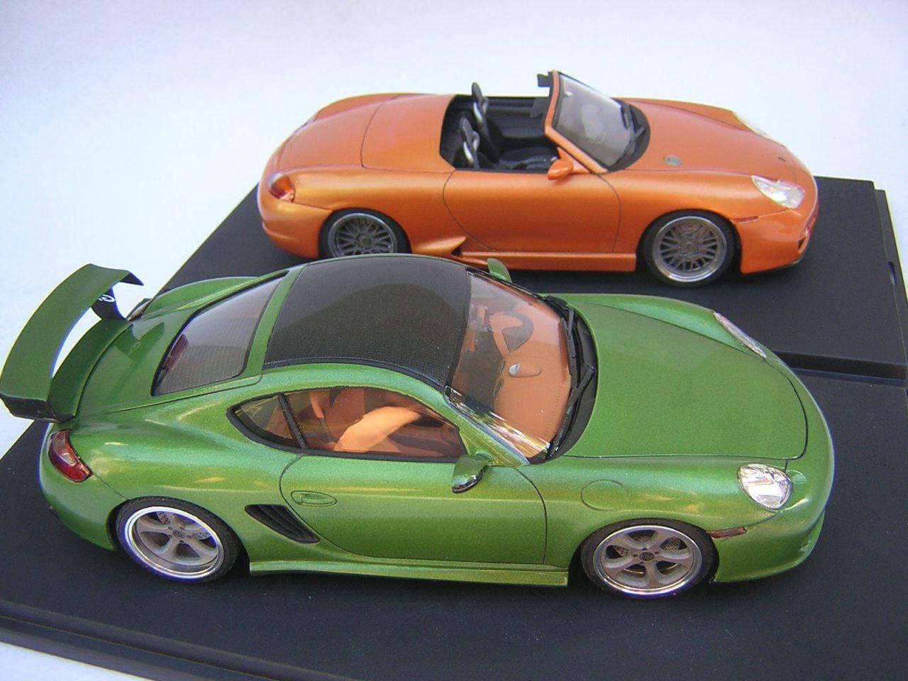 Porsche Cayman Fujimi 1:24