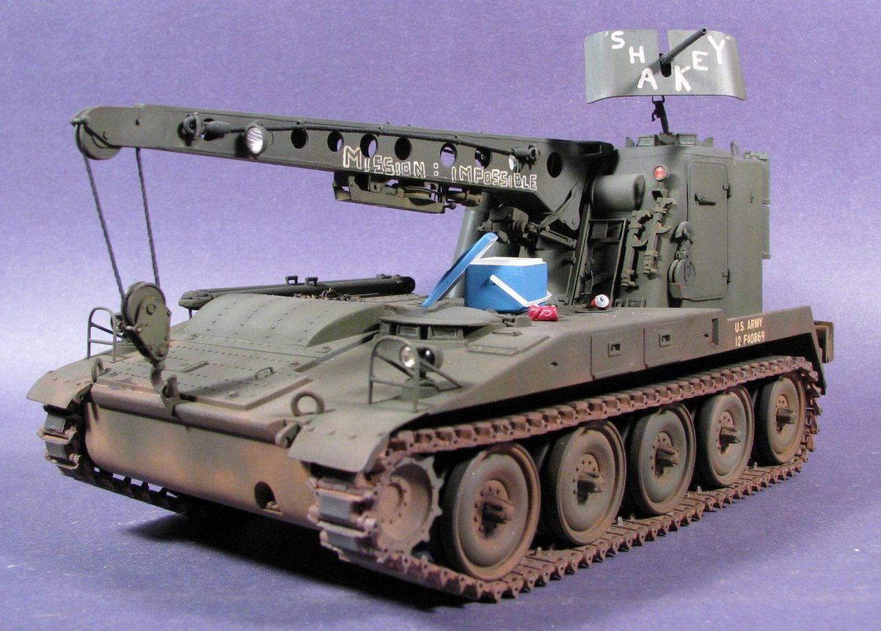m578 arv italeri 1 35 scale scale military vehicle. Black Bedroom Furniture Sets. Home Design Ideas