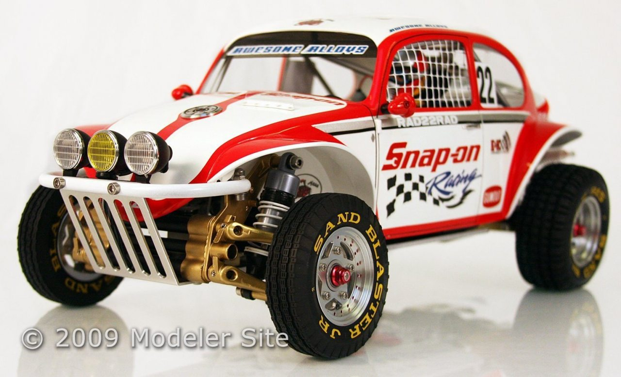el snap on scorcher desde un tamiya rc buggy escala 1 10. Black Bedroom Furniture Sets. Home Design Ideas