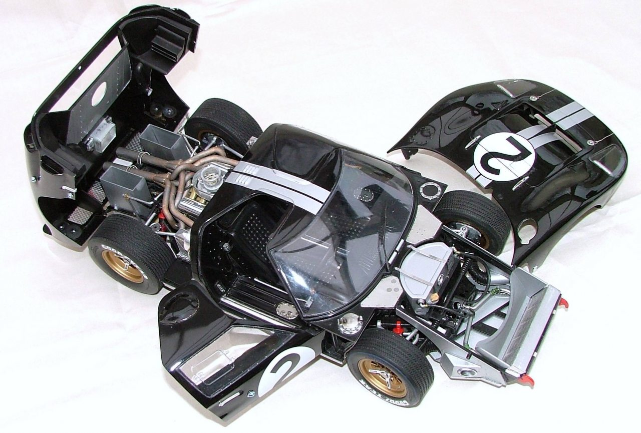 Featuring And Detailing The Trumpeter Ford Gt  Mk Ii   Scale