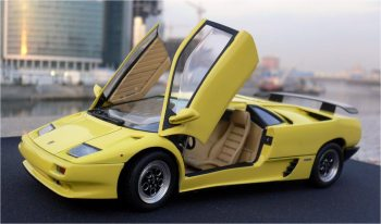 Improving The Lamborghini Diablo VT For Beginners Italeri #687 1/24 Scale