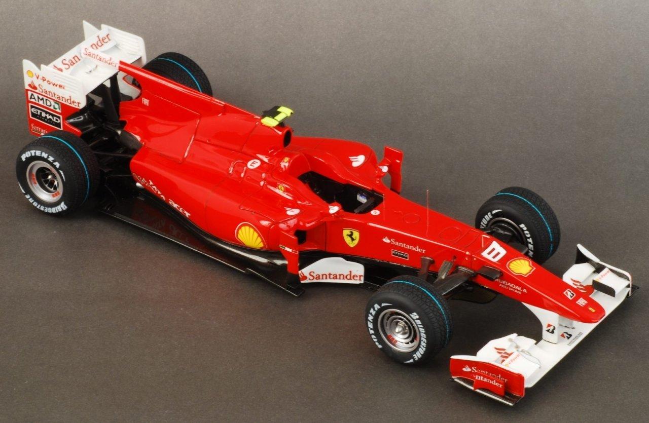 Building the Ferrari F10 Model Factory Hiro 1/20 scale - 1/20 Scale ...
