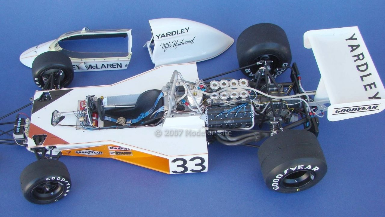 Yardley McLaren M23 Tamiya 1/12 scale