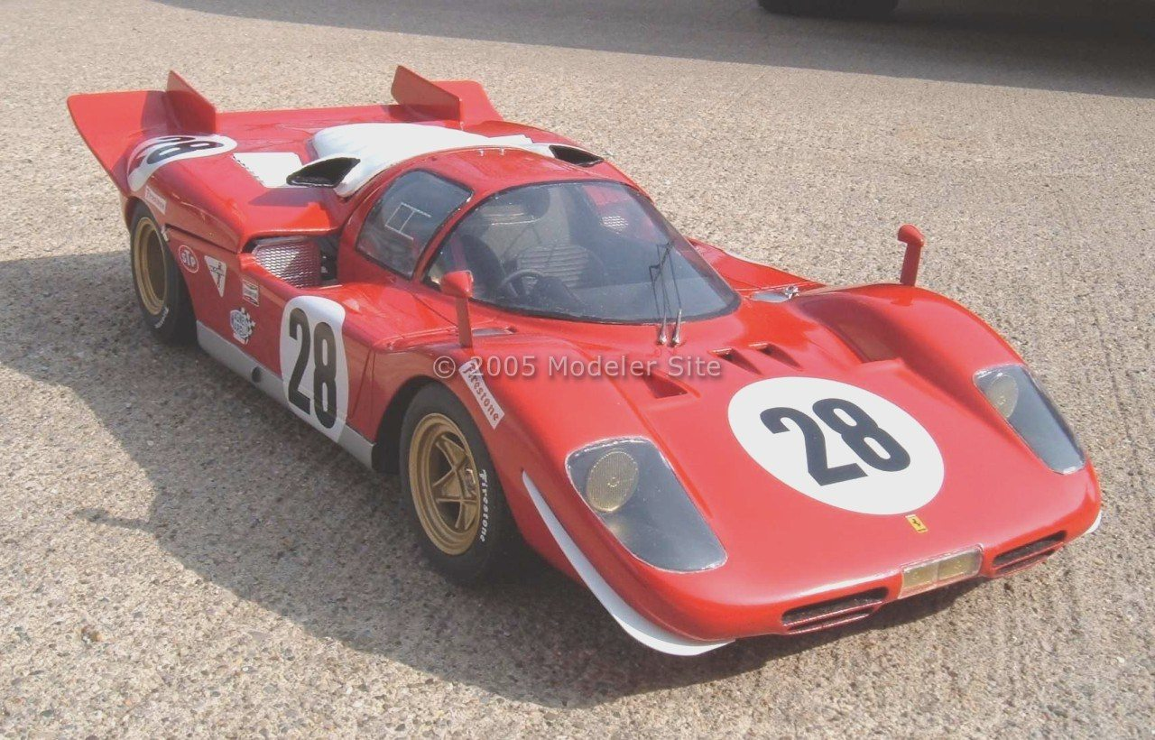 Building the 1970 Ferrari 512S Chassis # 1026, ABC 1/12