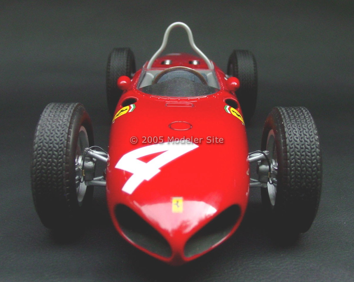 Superdetailing A Ferrari 156 Sharknose Mg 1 12 Scale 1 12 Scale Formula One Modeler Site