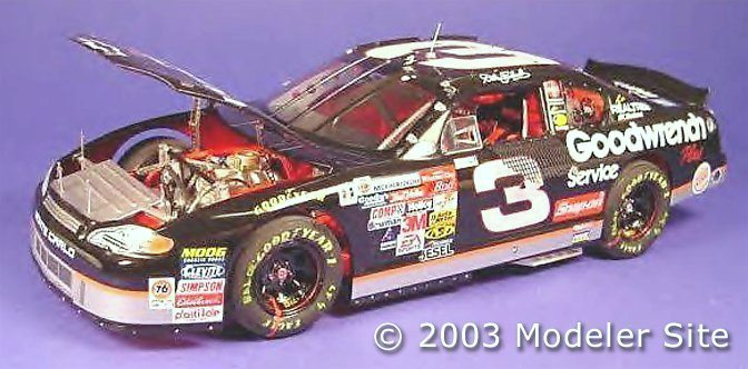 Dale Earnhardt 3 Gm Goodwrench Service Chevy Monte Carlo 124th 1