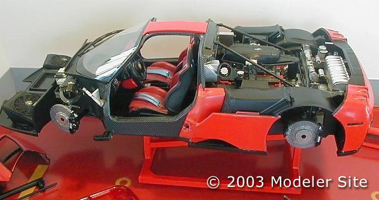Ferrari Enzo, step by step Tamiya 1/24 - Free for PDF orders - 1/24